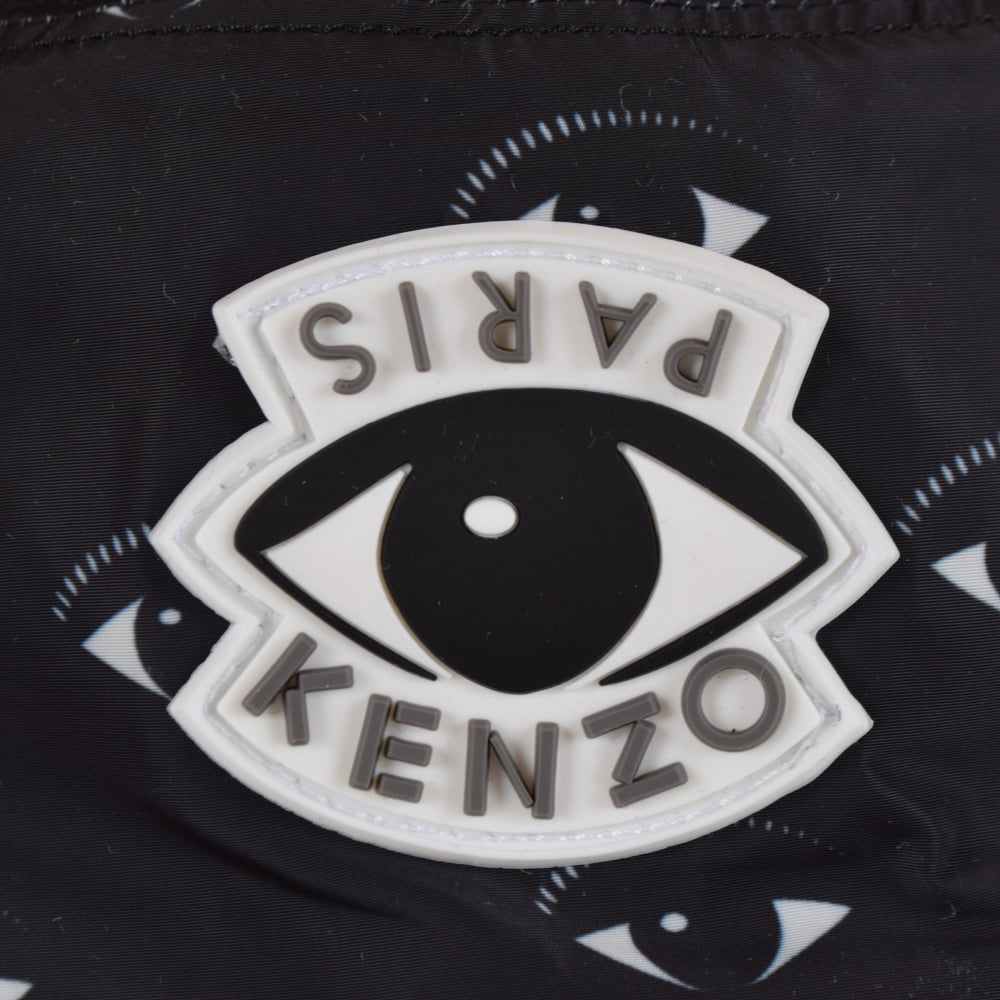 35a891c37cf KENZO Kenzo Black Eye Logo Bucket Hat - Men from Brother2Brother UK