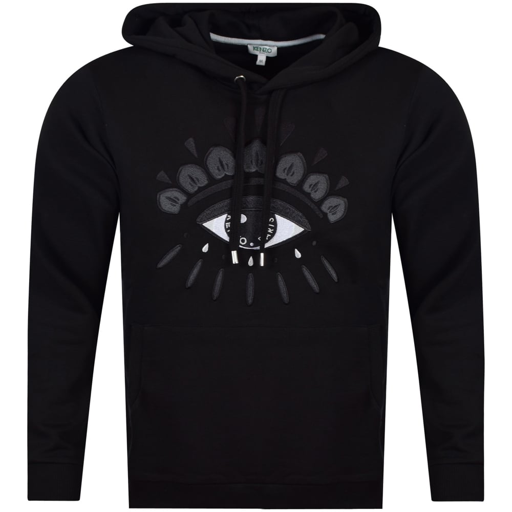 cdeffa98d0 KENZO Kenzo Black Eye Logo Hoodie - Men from Brother2Brother UK