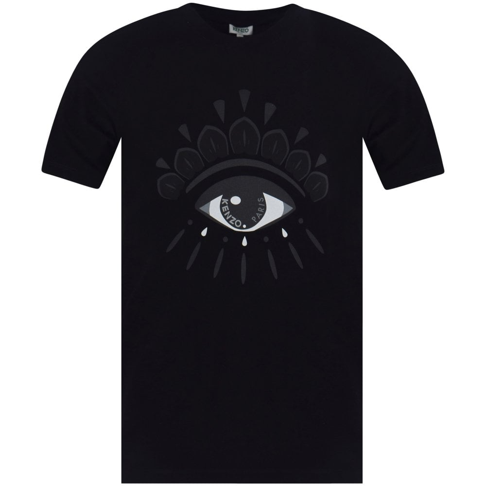 dadb69a6 KENZO Kenzo Black Eye Logo T-Shirt - Department from Brother2Brother UK