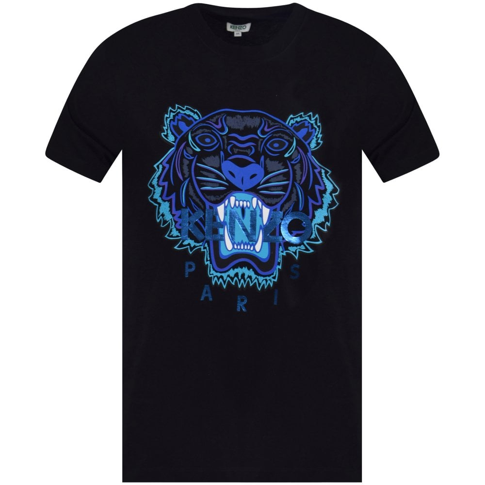 163c42e5c KENZO Black Holiday Capsule Tiger T-Shirt - Department from ...