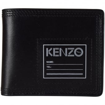 Kenzo Black Leather Wallet