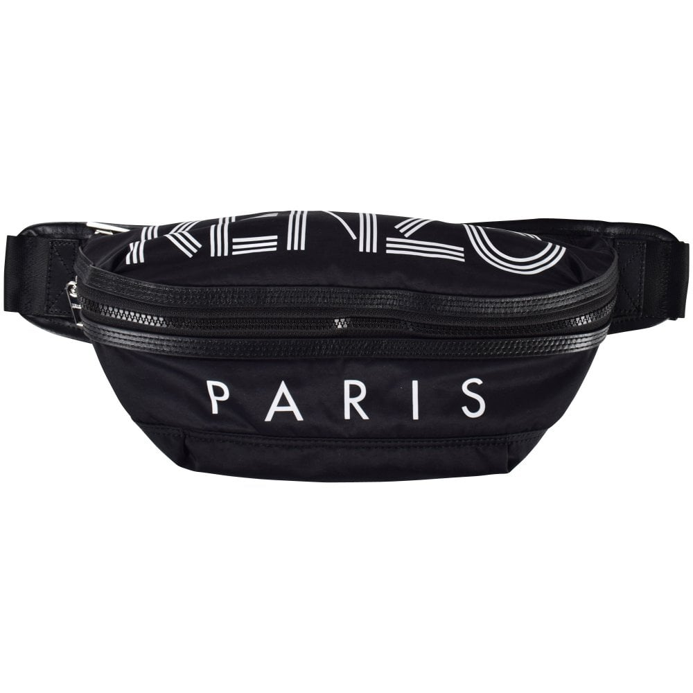 972d8984ff KENZO Black Logo Bumbag - Department from Brother2Brother UK
