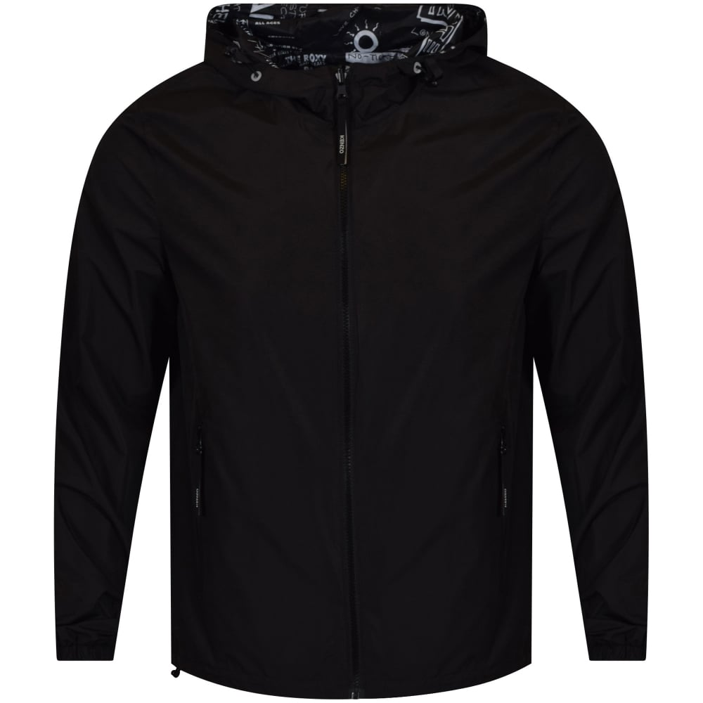 2077746d Black Reversible 'Flyer' Jacket