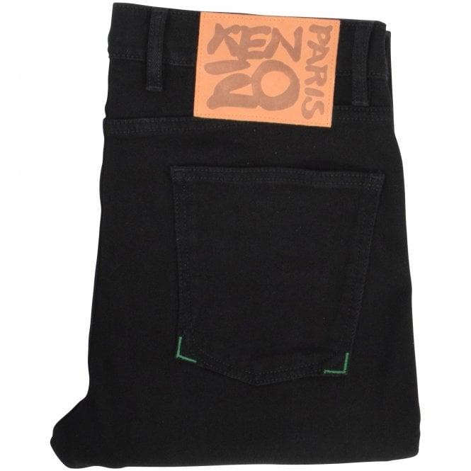 KENZO Black Skinny Jeans Close
