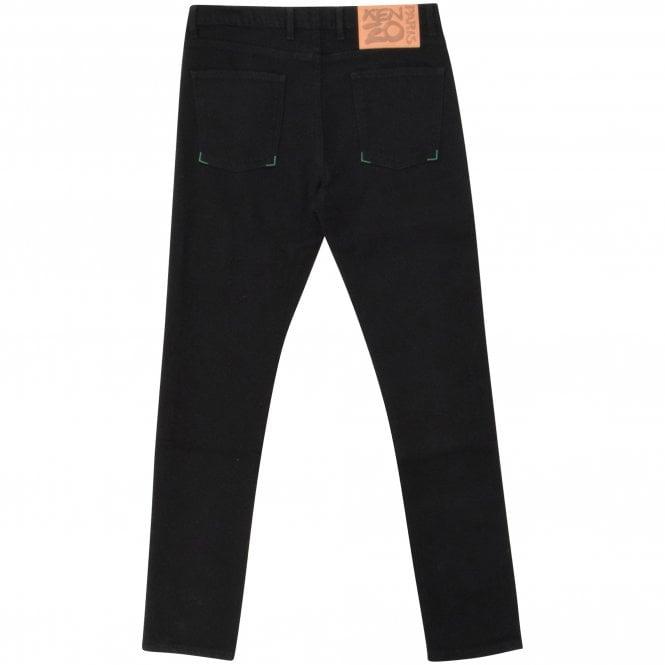 KENZO Black Skinny Jeans Reverse