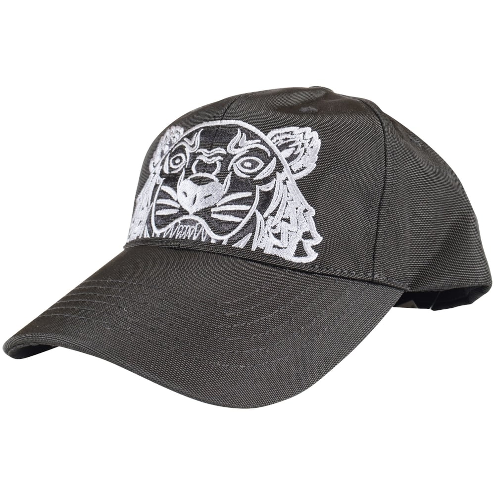 KENZO Kenzo Black Tiger Logo Baseball Cap - Men from Brother2Brother UK f8c0841ff28