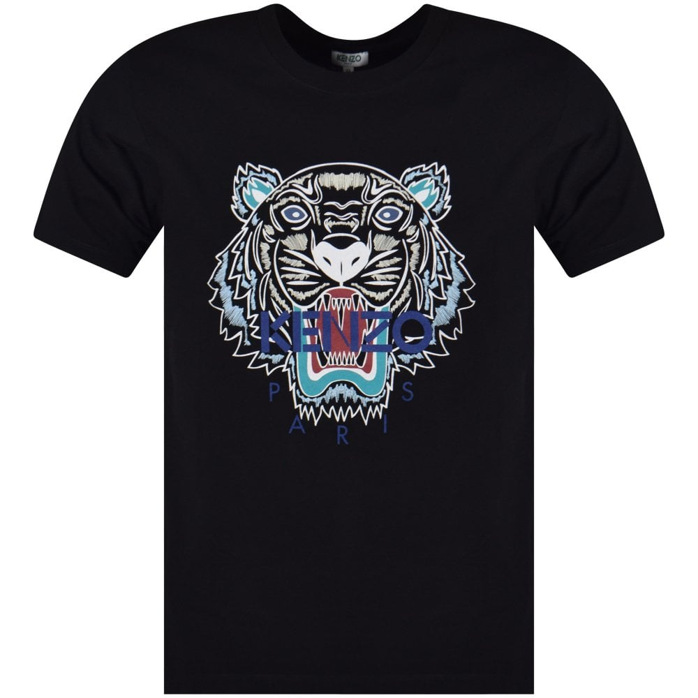 KENZO Kenzo Black Tiger T-Shirt - Men from Brother2Brother UK 85ec5cbaa8d