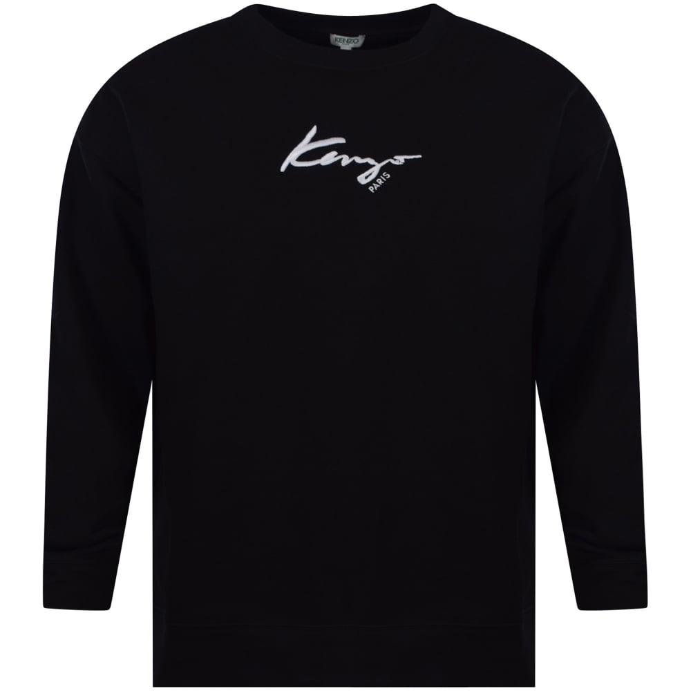 Text Sweatshirt Text Blackwhite Oversized Signature Signature Blackwhite Oversized 7IY6yfgbv