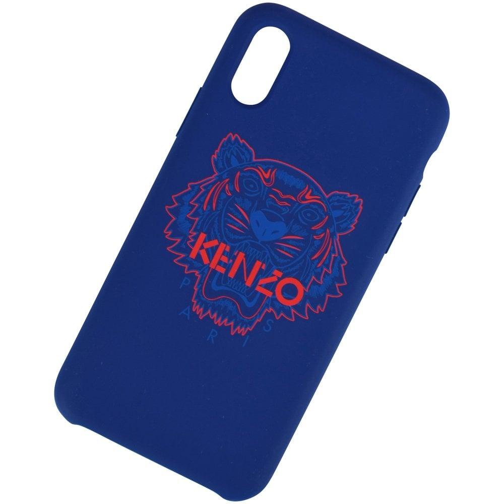 62746e910d KENZO Blue Tiger iPhone X/XS Phone Case