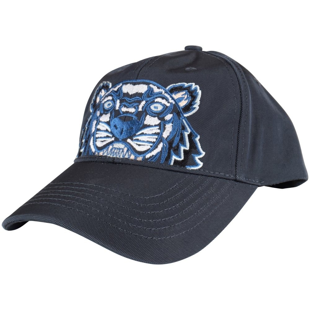 KENZO Kenzo Dark Grey Tiger Logo Cap - Men from Brother2Brother UK 809974a5af6