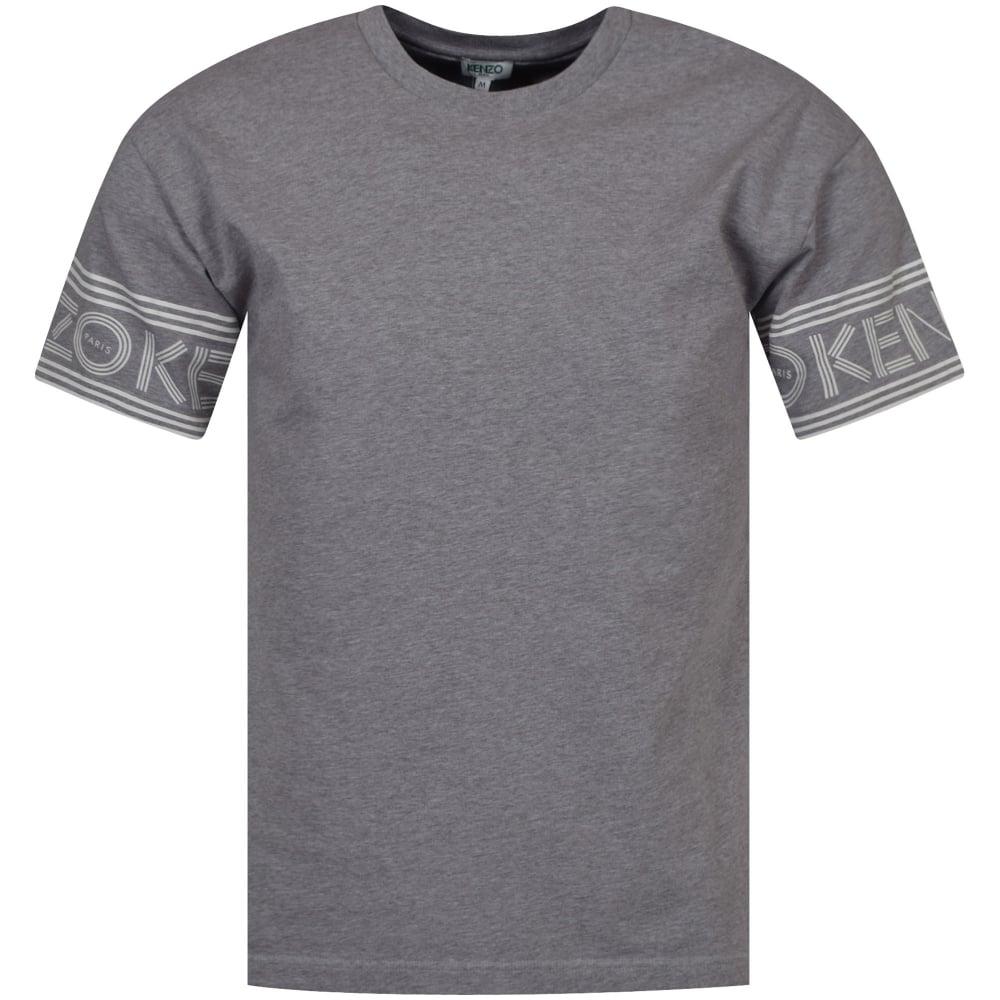 e9cf24d7 Dove Grey Arm Detail T-Shirt