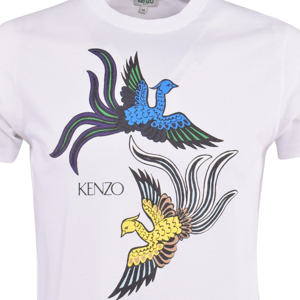 39d5b75d KENZO Flying Phoenix Print T-Shirt - Men from Brother2Brother UK