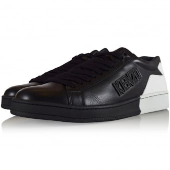 Kenzo Footwear Black/White Tennix Trainers