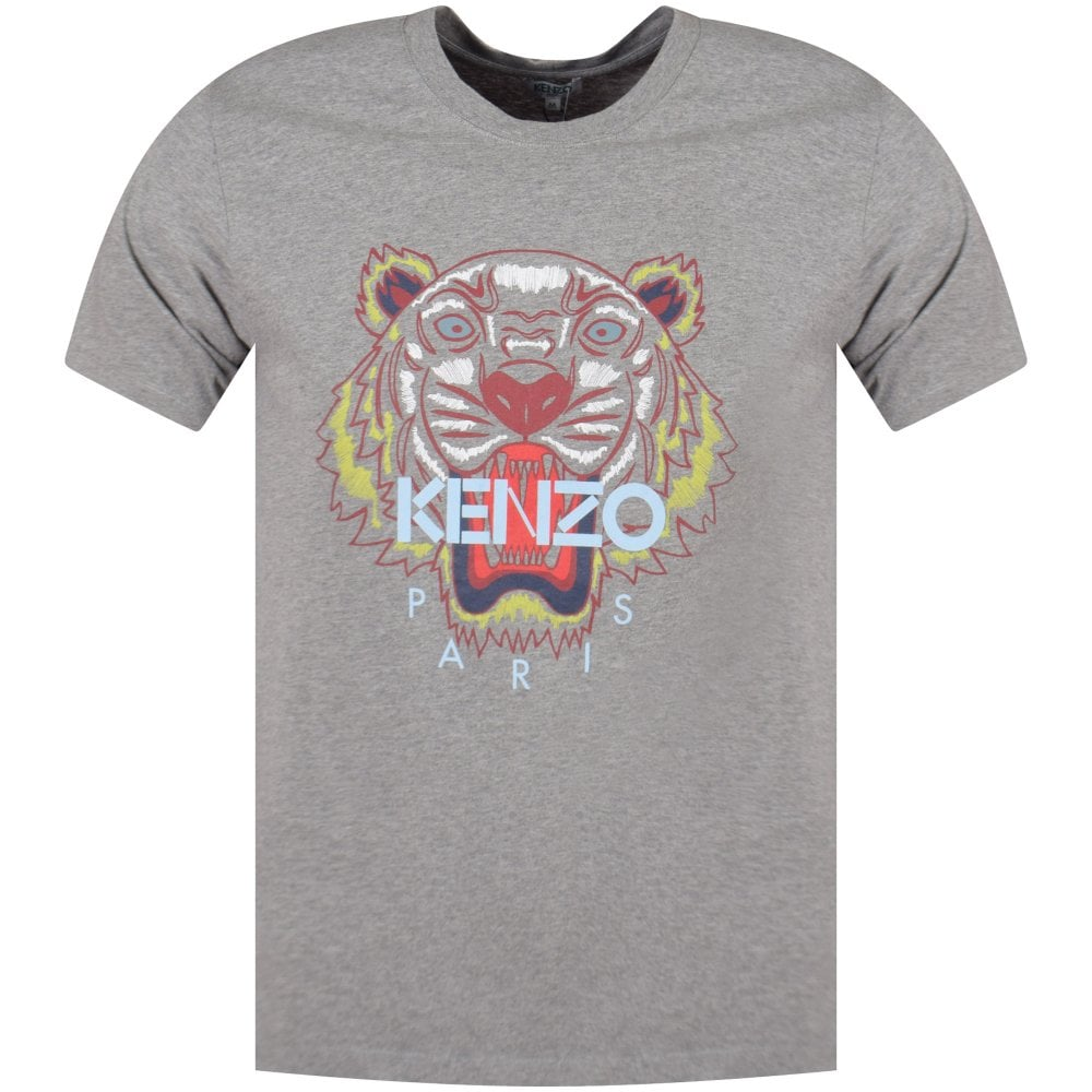 8923ceb70699 KENZO Kenzo Grey Tiger T-Shirt - Men from Brother2Brother UK