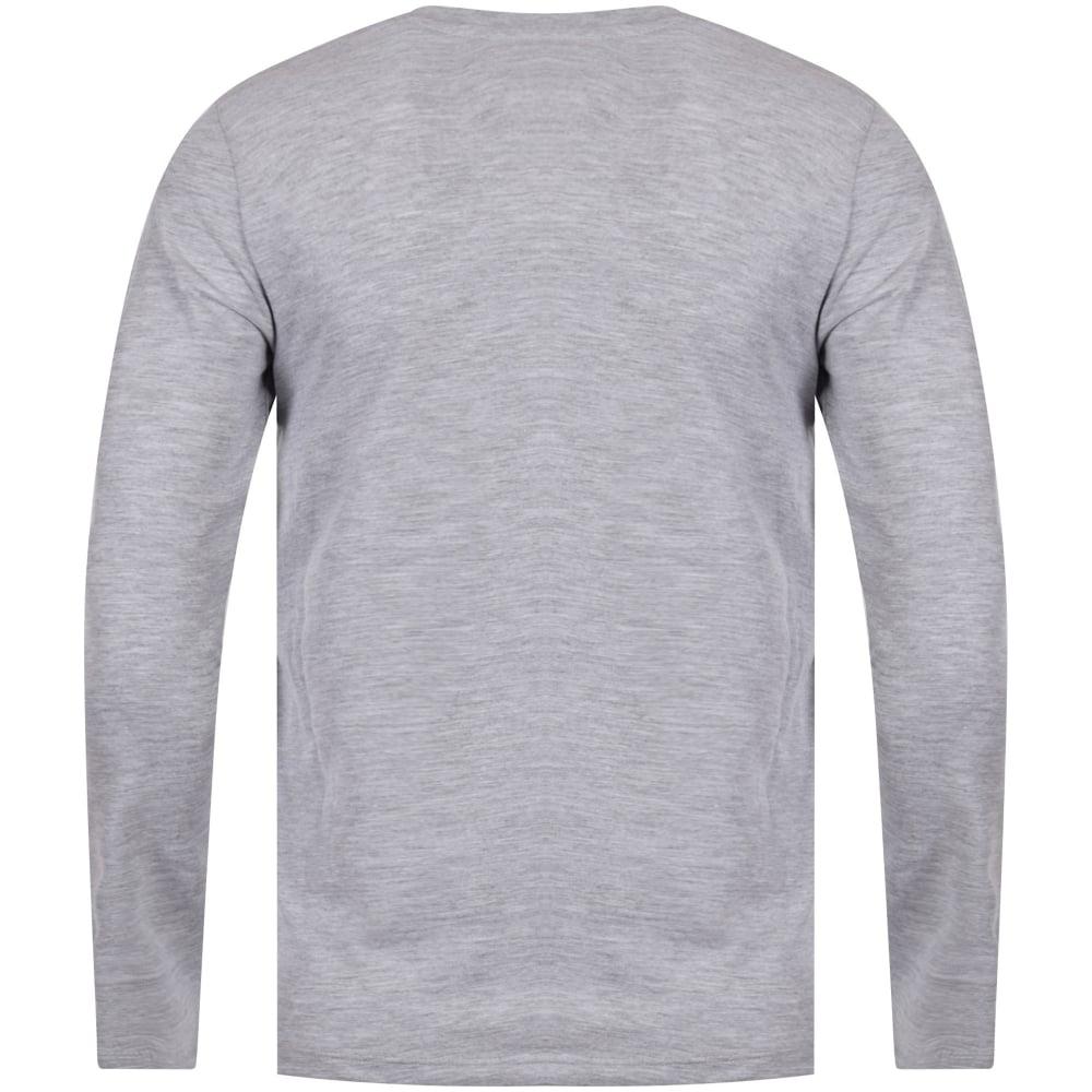 KENZO JUNIOR Kenzo Junior Grey Tiger Logo Long Sleeve T-Shirt ... 1fa12a67719