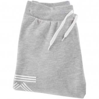Kenzo Junior Light Grey/White Side Text Joggers