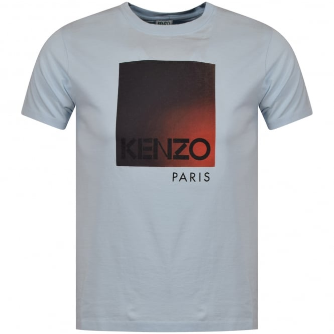 KENZO Light Blue Classic Crew Neck T-Shirt