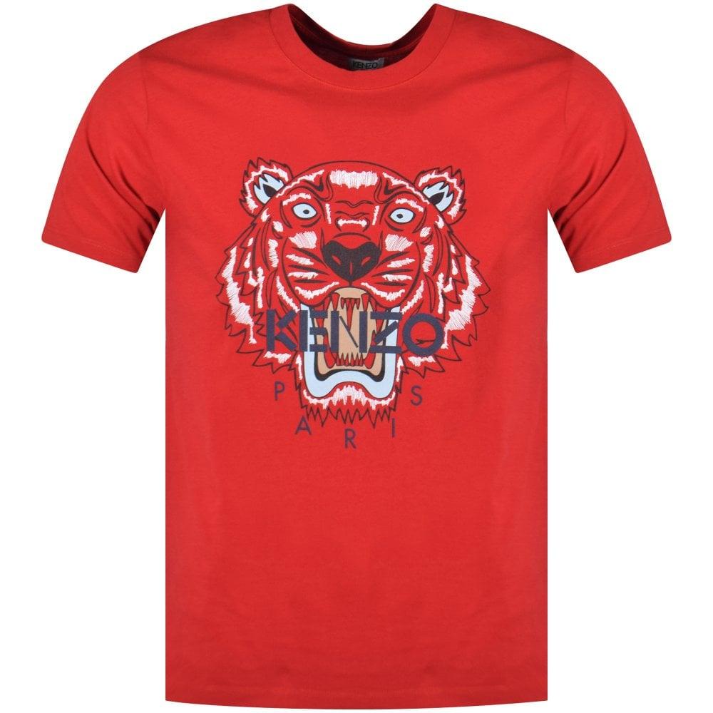 879b1f71 KENZO Kenzo Red Tiger T-Shirt