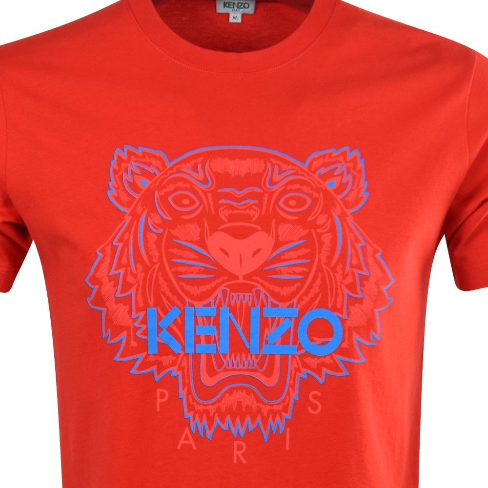 9b49fef8 Red Two-Tone Tiger T-Shirt