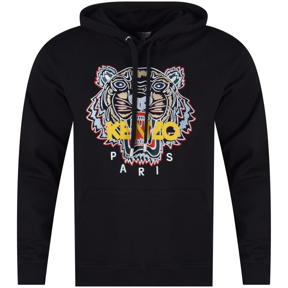 a44369b9f KENZO Kenzo Tiger Pullover Hoodie - Department from Brother2Brother UK