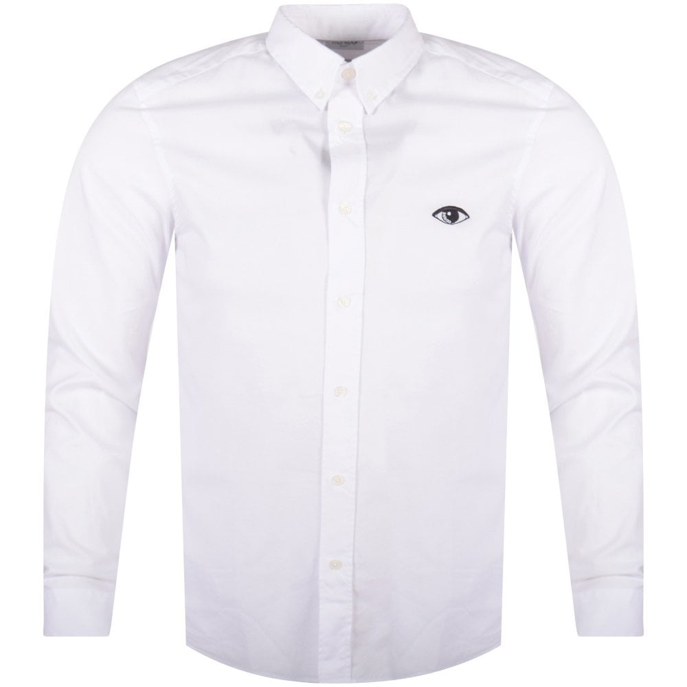 1710d8f69 KENZO Kenzo White Eye Logo Shirt - Department from Brother2Brother UK