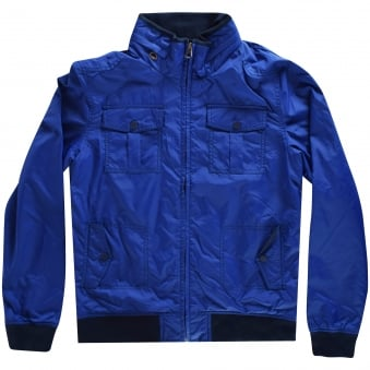 Levis Junior Blue Zip Up Jacket