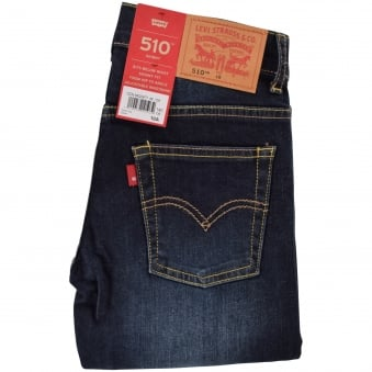 Levis Junior Mid Wash 510 Skinny Fit Jeans