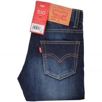 Levis Junior Mid Wash 510 Skinny Jeans