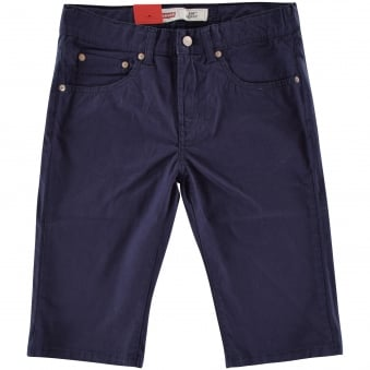 Levis Junior Navy 510 Skinny Fit Shorts
