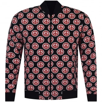 Love Moschino All Over Print Sweater