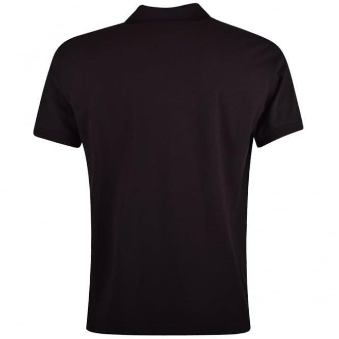 1d9079da LOVE MOSCHINO Love Moschino Black Tape Pocket Polo Shirt ...