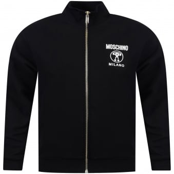 Love Moschino Black/White Milano Zip Sweat