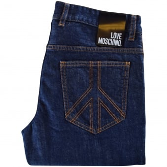 Love Moschino Blue Denim Jeans