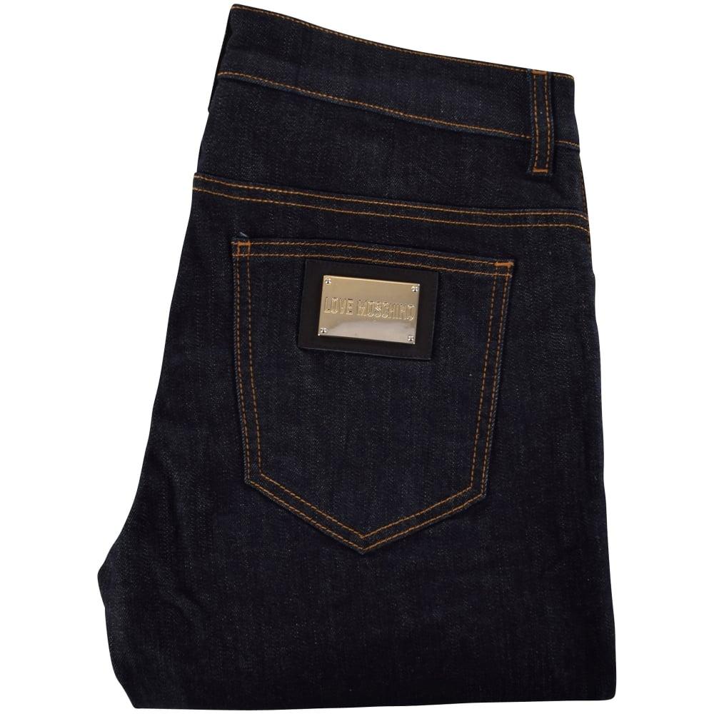 f64f9d7c03 LOVE MOSCHINO Love Moschino Dark Indigo Jeans