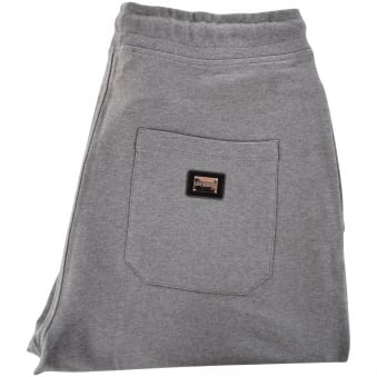 Love Moschino Grey Logo Track Bottoms