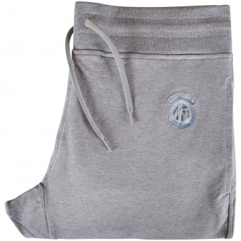Love Moschino Grey Peace Shadow Logo Joggers