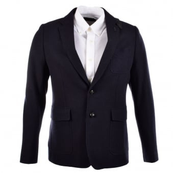 Luke Squire Mens Deep Navy Blazer