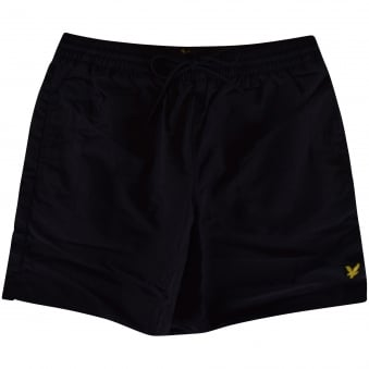 Lyle & Scott Black Logo Swim Shorts