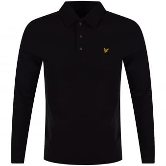 Lyle & Scott Black Poloshirt