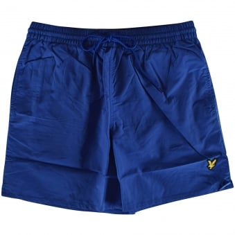 Lyle & Scott Blue Logo Swim Shorts