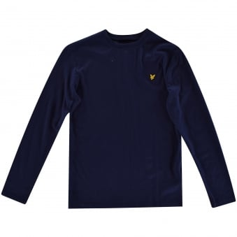 Lyle & Scott Boys Navy Long Sleeved T-Shirt