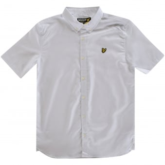 Lyle & Scott Button Up White Shirt
