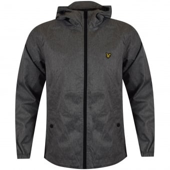 Lyle & Scott Grey Hooded Jacket