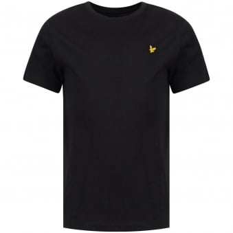 Lyle & Scott Black Crew Neck T-Shirt