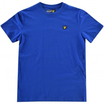 Lyle & Scott Boys Blue Logo T-Shirt