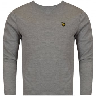 Lyle & Scott Boys Grey Long Sleeved T-Shirt