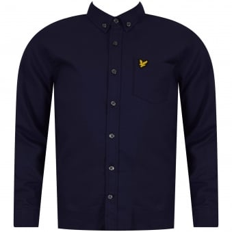 Lyle & Scott Boys Navy Long Sleeve Shirt