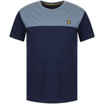 Lyle & Scott Junior Navy Short Sleeve T-Shirt