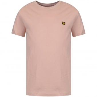 Lyle & Scott Junior Pink Logo T-shirt