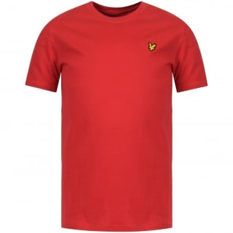 Lyle & Scott Junior Royal Red Crew Neck T-Shirt
